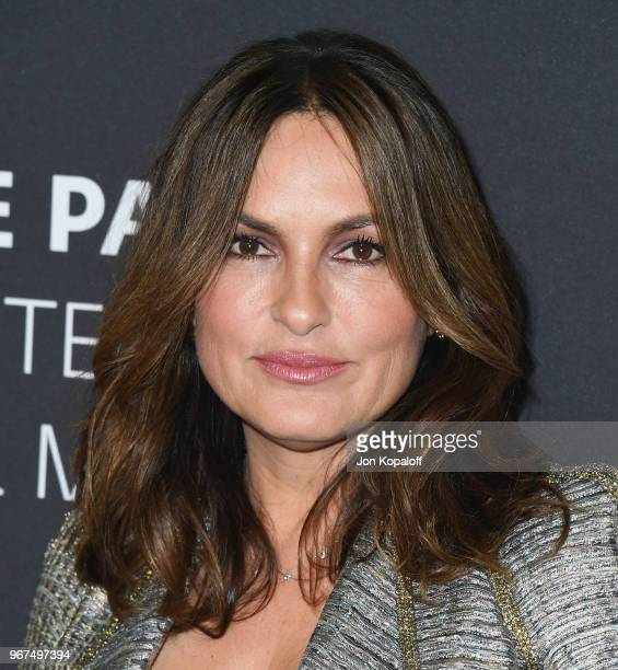 Mariska Hargitay attends the Paley Center for Media Presents Creating Great Characters Dick Wolf And Mariska Hargitay at The Paley Center for Media...