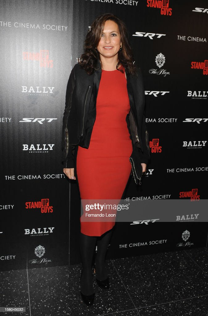 Mariska Hargitay attends the premiere of 'Stand Up Guys' hosted by The Cinema Society with Chrysler and Bally at MOMA on December 9, 2012 in New York City.