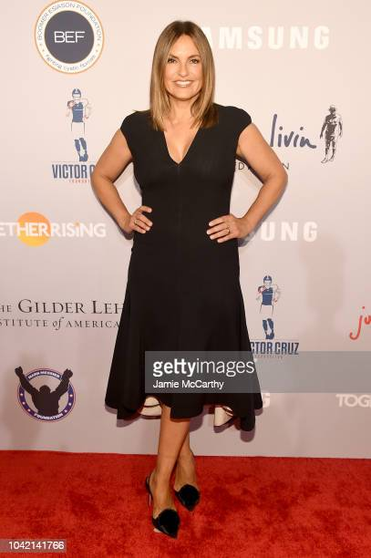 Mariska Hargitay attends the Samsung Charity Gala 2018 at The Manhattan Center on September 27 2018 in New York City
