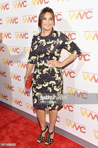 Mariska Hargitay attends the Women's Media Center 2016 Women's Media awards on September 29 2016 in New York City