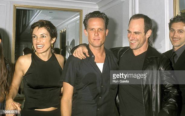 Mariska Hargitay Dean Winters and Christopher Meloni