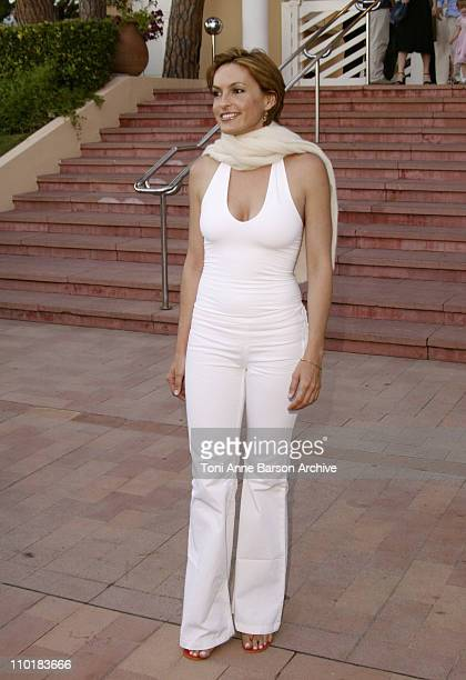 Mariska Hargitay during 2003 Monte Carlo Television Festival 'Independence Day' Party at Monte Carlo Beach Hotel in Monte Carlo Monaco