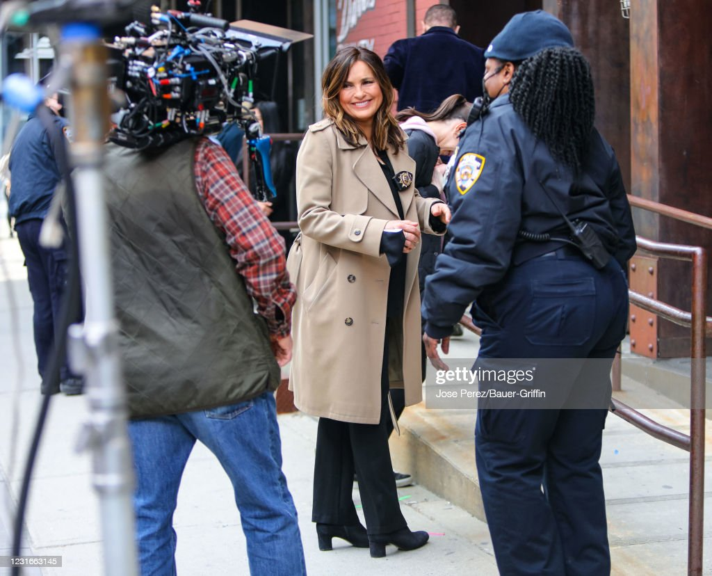 Celebrity Sightings In New York - March 11, 2021 : News Photo
