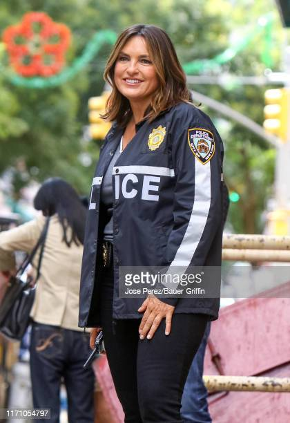 Mariska Hargitay is seen on September 25 2019 in New York City