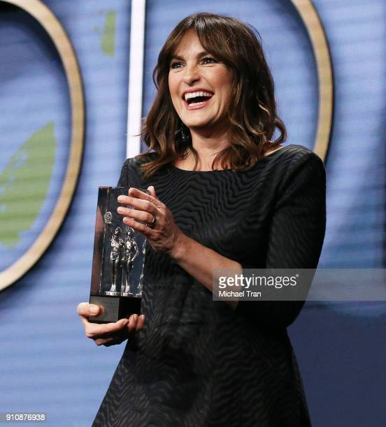 Mariska Hargitay onstage during the 68th Annual ACE Eddie Awards held at The Beverly Hilton Hotel on January 26 2018 in Beverly Hills California