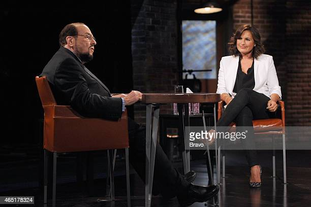 STUDIO Mariska Hargitay Pictured James Lipton Mariska Hargitay