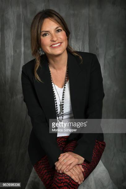 Mariska Hargitay poses for a portrait at Time's Up during the 2018 Tribeca Film Festival at Spring Studios on April 28 2018 in New York City