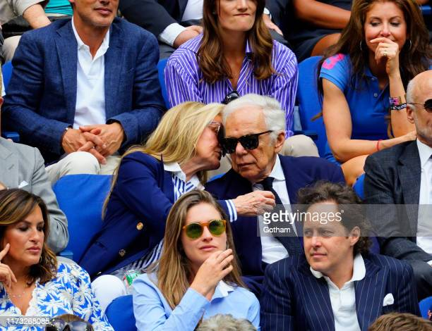 Mariska Hargitay Ricky Anne LoweBeer Lauren Bush Lauren Ralph Lauren and David Lauren at 2019 US Open Final on September 08 2019 in New York City
