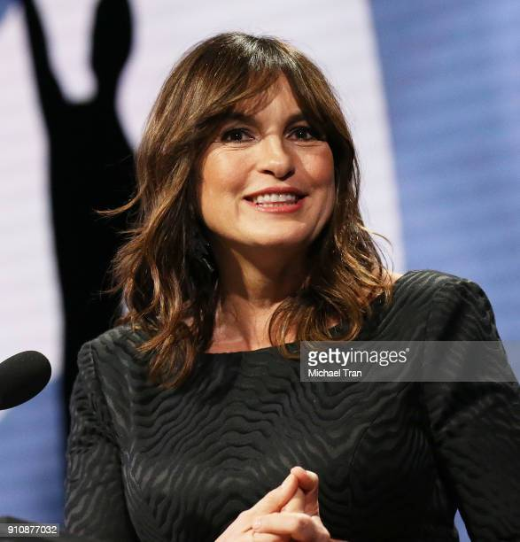 Mariska Hargitay speaks onstage during the 68th Annual ACE Eddie Awards held at The Beverly Hilton Hotel on January 26 2018 in Beverly Hills...