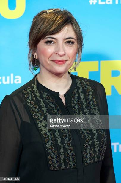 Marisol Aznar attends 'La Tribu' premiere at the Capitol cinema on March 12 2018 in Madrid Spain