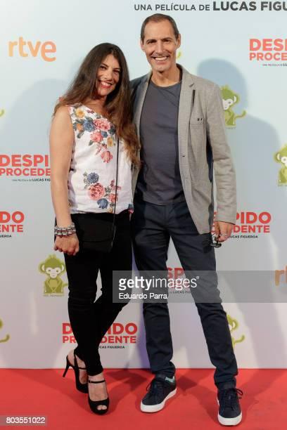 Marisol Bandera and Manuel Bandera attend the 'Despido procedente' photocall at Callao cinema on June 29 2017 in Madrid Spain