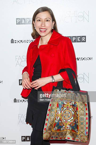 Marisol Deluna attends Fashion for Action 2012 at the Altman Building on November 7 2012 in New York City