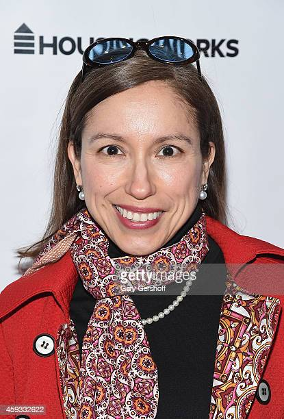 Marisol Deluna attends Fashion For Action at The Rubin Museum of Art on November 20 2014 in New York City