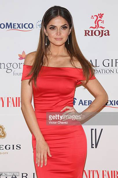 Marisol Gonzalez attends the Global Gift Gala Mexico City at Torre Virrelles on November 12 2016 in Mexico City Mexico