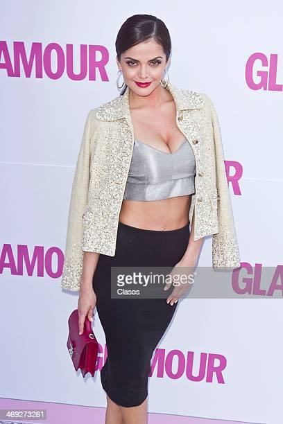 Marisol Gonzalez attends the red carpet of Glamour Awards at Rufino Tamayo Museum on February 13 2014 in Mexico City Mexico