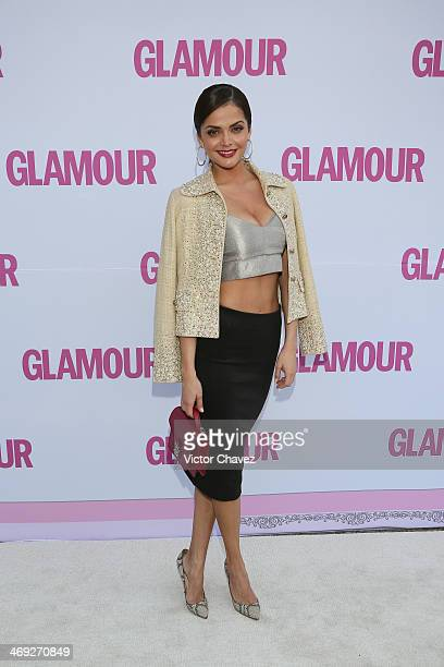 Marisol González attends the Glamour Magazine México Beauty Awards 2013 at Museo Rufino Tamayo on February 13 2014 in Mexico City Mexico