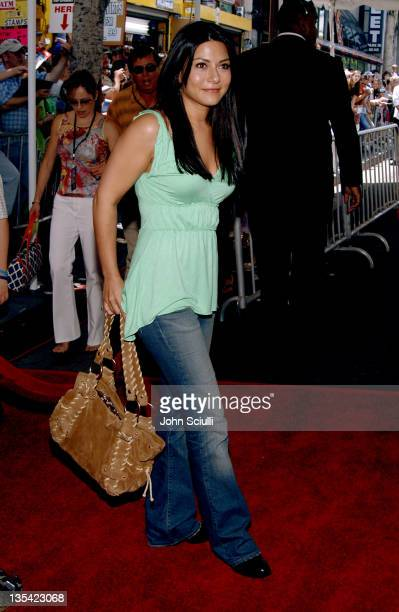 Marisol Nichols during Sky High Los Angeles Premiere Red Carpet at El Capitan Theatre in Los Angeles California United States