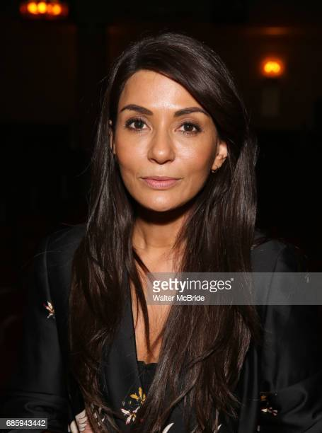 Marisol Nichols from the cast of 'Riverdale' visits Broadway's 'Bandstand' at the Bernard Jacobs Theate on May 19 2017 in New York City