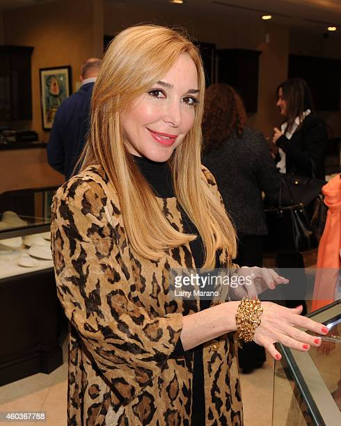Marisol Patton attends MakeAWish Foundation Private Event at Levinson Jewelers on December 11 2014 in Fort Lauderdale Florida