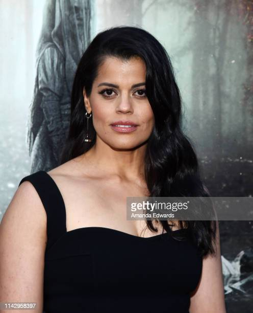 Marisol Ramirez arrives at the premiere of Warner Bros' The Curse Of La Llorona at the Egyptian Theatre on April 15 2019 in Hollywood California