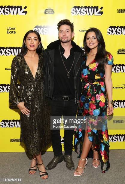 Marisol Sacramento Jackson Rathbone and Carmela Zumbado attend The Wall of Mexico during the 2019 SXSW Conference and Festivals at Stateside Theatre...