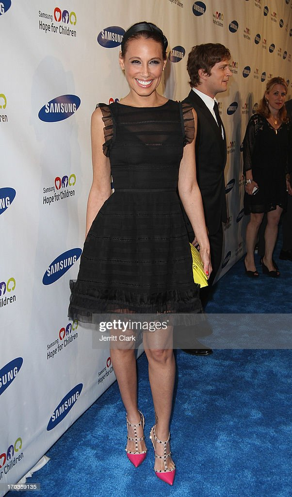 Marisol Thomas attends Samsung Hope For Children 12th Annual Gala at Cipriani Wall Street on June 11, 2013 in New York City.