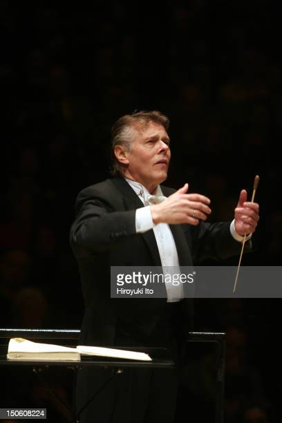 Mariss Jansons leading the Royal Concertgebouw Orchestra in Rachmaninoff's Symphony No 2 in E minor at Carnegie Hall on Tuesday night February 16 2010