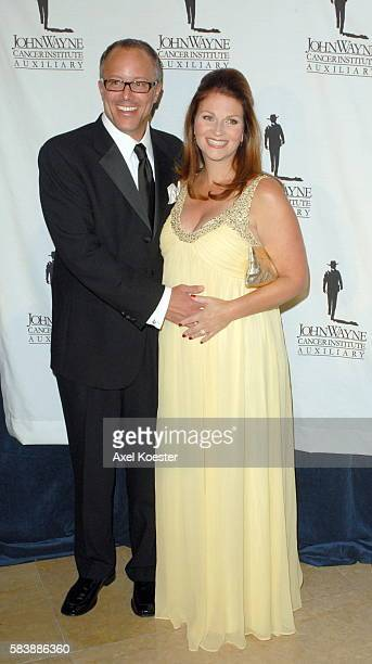 Marissa and Tony Diteaux arrive at the 22nd Annual Odyssey Ball a major fundraiser for the John Wayne Cancer Insitute at the Beverly Hilton Hotel...