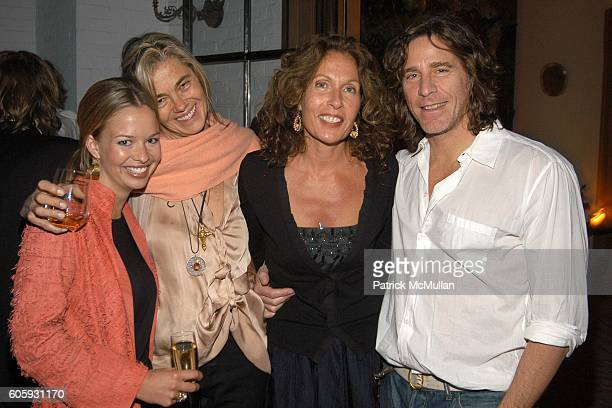 Marissa Anshutz, Nadine Johnson, Jacqueline Schnabel and Guy Zarete attend MARNI Dinner for Consuelo Castiglioni at The Home of Jacqueline Schnabel...