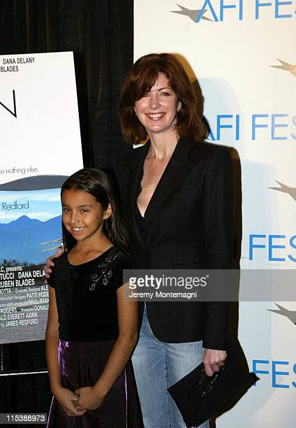 Marissa Baca and Dana Delany during AFI Film Festival Screening of James Redford's Directorial Debut Spin at Arclight Cinema in Holllywood California...