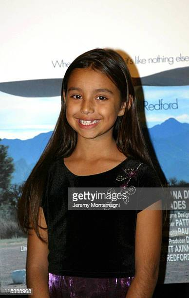 Marissa Baca during AFI Film Festival Screening of James Redford's Directorial Debut Spin at Arclight Cinema in Holllywood California United States