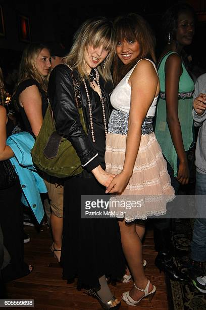 Marissa Bregman and Vanessa Bronfman attend LISA EDELSTEIN and ROSARIO DAWSON Birthday Party at The Plumm on May 18 2006 in New York City