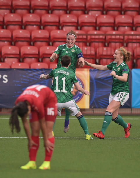 GBR: Northern Ireland v Luxembourg: Group D - FIFA Women's World Cup 2023 Qualifier
