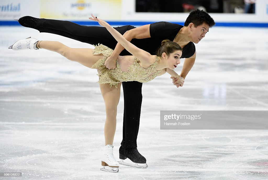 2016 Prudential U.S. Figure Skating Championship - Day 1 : News Photo