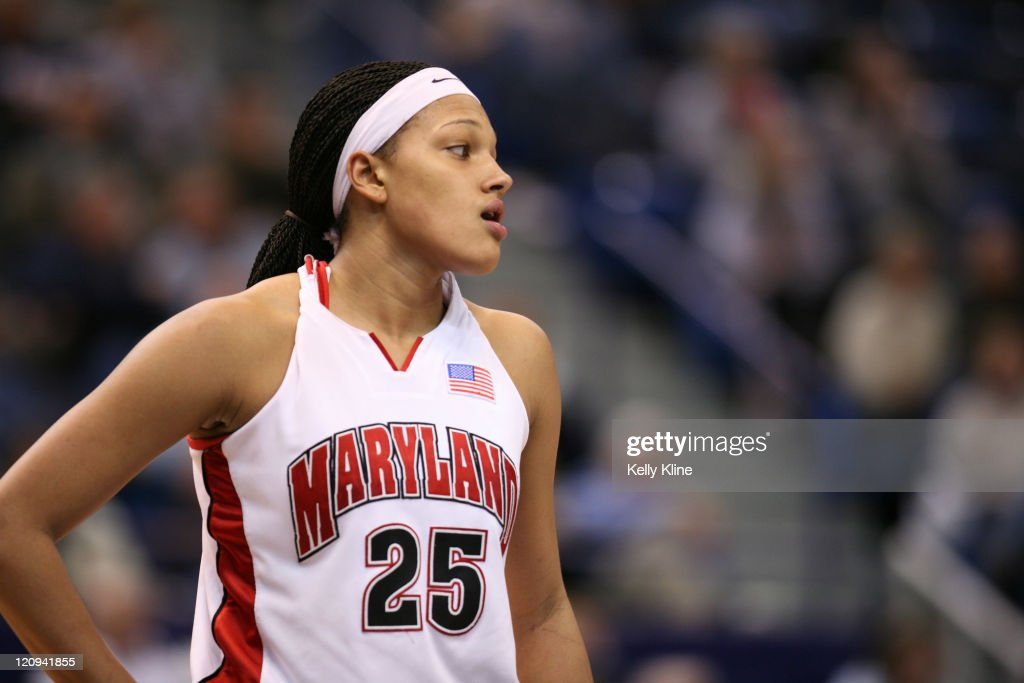 NCAA Women's Basketball - 2007 NCAA Tournament - Second Round - Maryland vs Mississippi : News Photo