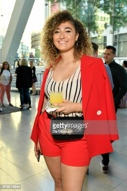 Marissa Eina attends Lincoln Center Corporate Fund's Stand Up Sing for the Arts at Alice Tully Hall on June 19 2018 in New York City