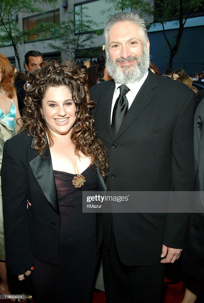 Marissa Jaret Winokur and Harvey Fierstein during 59th Annual Tony Awards - Red Carpet at Radio City Music Hall in New York City, New York, United States.