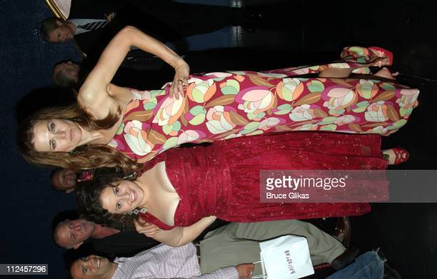 """Marissa Jaret Winokur and Lucy Lawless during """"Hairspray"""" Opening Night Los Angeles - After Party at Henry Fonda Theatre in Hollywood, California,..."""