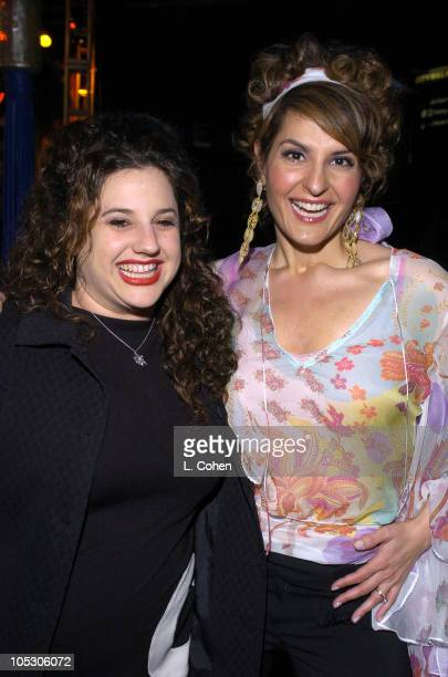 "Marissa Jaret Winokur and Nia Vardalos during ""Connie and Carla"" World Premiere - After Party at Universal Studios Cinema in Universal City,..."