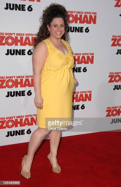 """Marissa Jaret Winokur arrives at Sony Pictures Premiere of """"You Don't Mess With the Zohan"""" on May 28, 2008 at the Grauman's Chinese Theatre in..."""