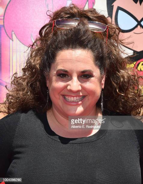 Marissa Jaret Winokur attends the premiere of Warner Bros Animation's Teen Titans Go To The Movies at TCL Chinese Theatre IMAX on July 22 2018 in...