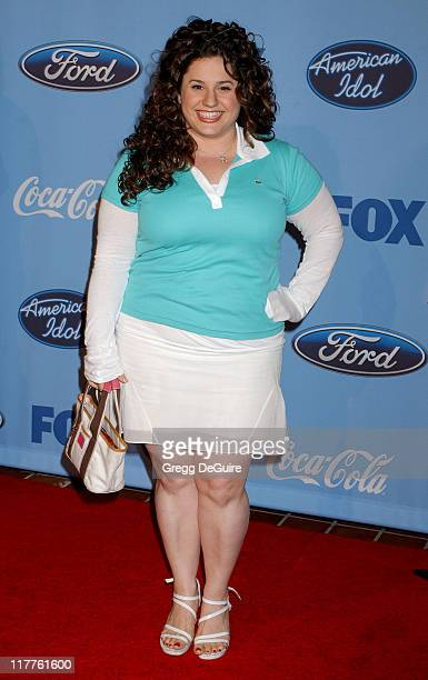 Marissa Jaret Winokur during 'American Idol' Season 4 Top 12 Finalists Party at Astra West in West Hollywood California United States