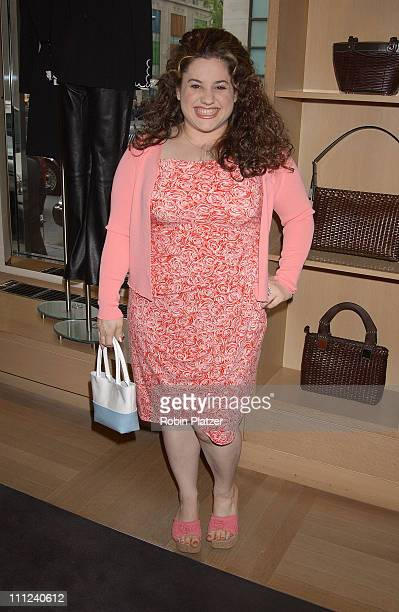 Marissa Jaret Winokur during The Official Drama Desk Cocktail Party at St John Boutique in New York City New York United States