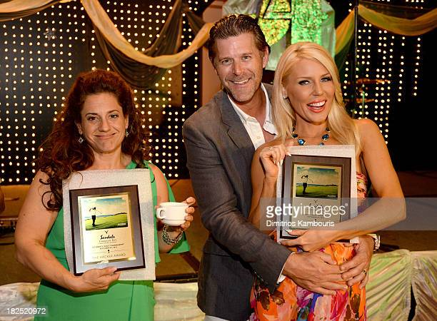 Marissa Jaret Winokur Slade Smiley and Gretchen Rossi attend the Gala Dinner and Awards during Day Three of the Sandals Emerald Bay Celebrity Getaway...