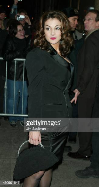Marissa Matrone during Maid in Manhattan Premiere AfterParty at The Rainbow Room in New York City New York United States