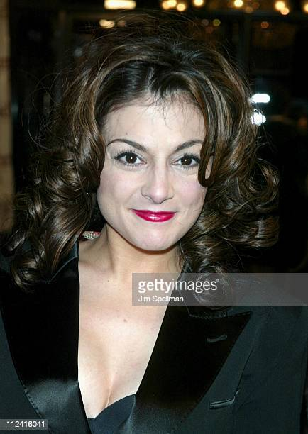 Marissa Matrone during Maid in Manhattan Premiere Arrivals at The Ziegfeld Theatre in New York City New York United States