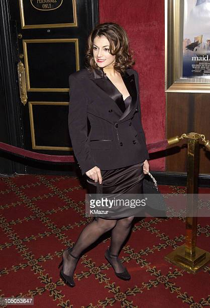 Marissa Matrone during Maid in Manhattan Premiere Inside Arrivals at Ziegfeld Theater in New York City New York United States