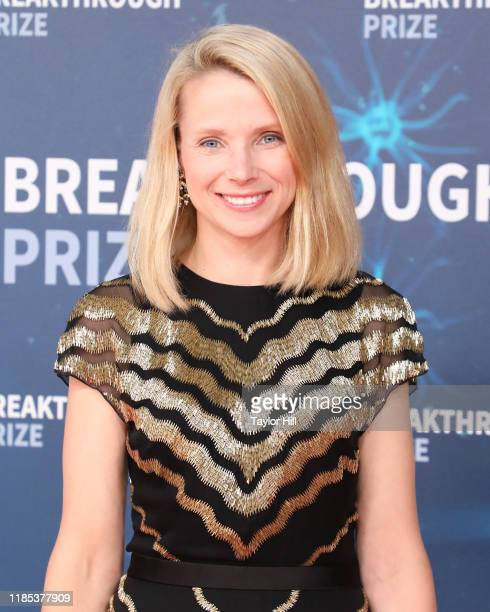 Marissa Mayer attends the 2020 Breakthrough Prize Ceremony at NASA Ames Research Center on November 03, 2019 in Mountain View, California.