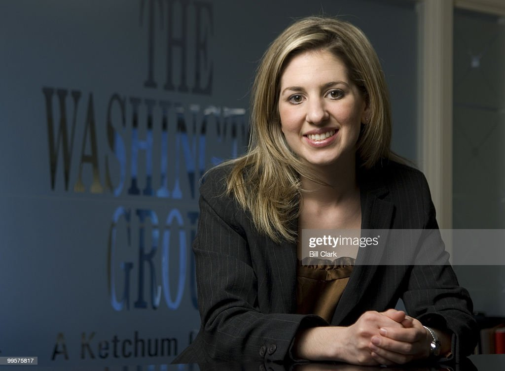 Marissa Mitrovich, vice president of the Washington Group, poses at her office on Wednesday, Jan. 9, 2008.