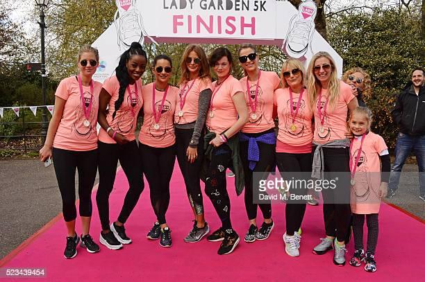 Marissa Montgomery AJ Odudu Roxie Nafousi Millie Mackintosh Jasmine Guinness Vogue Williams Mika Simmons Jenny Halpern Prince and Kelly Hoppen attend...